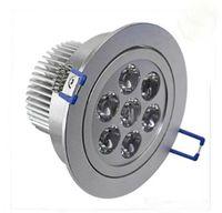 Vente chaude Dimmable LED plafond vers le bas de la lumière 7x3W 21W Ligh blanc chaud, Cool White Led Ceil Light LLFA