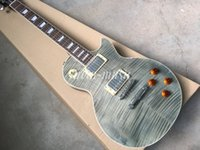 Arvinmusic Custom shop Electric Guitar, gray Elegant guitar, ...