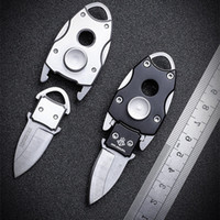 2019 جديد شحن مجاني outdoor البسيطة الدوران الطي سكين الدفاع الذاتي البرية بقاء شارب التكتيكية الصيد السكاكين أدوات edc