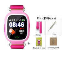 Q90 Bluetooth Smartwatch with GPS WiFi LBS for iPhone IOS An...