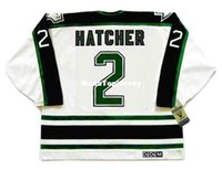 New Arrival. custom Mens Jerseys DERIAN HATCHER Dallas Stars 1990 s CCM  Vintage Cheap Retro Hockey Jersey 7d4a1f9f1