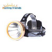 Jachtvrienden LED-koplamp oplaadbare koplamp Waterdichte hoofd Zaklamp Coon Jachtlampen Vislamp voor Outdoor
