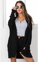 Wholesale Youthful Popularity Women Cardigan Loose Type Knit...