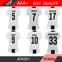 RONALDO women New 2019 Soccer Jersey 18 19 2018 Home Away DYBALA HIGUAIN Football  Shirt CRISTIANO MANDZUKIC D. Costa 463ec81f8