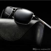 d658ce216f Fashion Square gafas de sol de conducción Diseñador de la marca UV400  Protección Sunglass gafas de