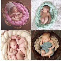 Neonati Fotografia Puntelli Puntelli Bambino Bambino coperta in lana solido Popolari Puntelli Sfondo Sfondo Sfondo Sfondo Neonato Puntelli