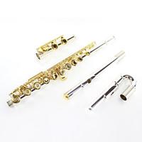 Yamaha Hot Sale Flute 271S Copper plateado blanco plateado en oro plateado oro Flute 16 abierto instrumento musical con orificio E