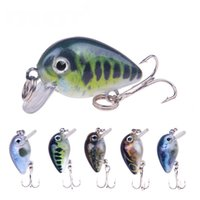 3. 1g 3cm 3D Crank Bass Fishing Lures Cranks Minnow Bait Cran...