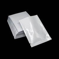 200pcs lot 6x9cm Mini Open Top Food Packing Pouches White Gl...