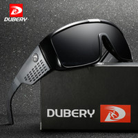 DUBERY Men's Sunglasses Retro Male Goggle Colorful Sun Glasses For Men Fashion  Mirror Shades Oversized Oculos UV400