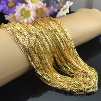 KASANIER Fashion Gold Color Necklace 16- 30 Inches Woman Jewe...