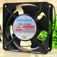 새로운 XINDAFAN XD12038AC 2HS 220V 12CM 12038 캐비닛 냉각 팬용
