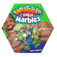 Wubble Fulla Marbles Novedad Bead Stress Ball Anti Stress Reliever Ball Squishy Straps Squeeze Stretchy Funny Tricky Charms Regalo para niños Juguetes