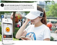 Summer Cooling Sport Music Bluetooth Beanie Hat With Headpho...