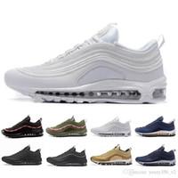 new product a4728 847d4 Date Marque Hommes Bas 97 OG Coussin Respirant Pas Cher Massage Course à  Pied Plat Sneakers