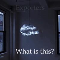 Smart Creative Romantique Blanc Clouds Pendentif Lights LED Effet de la foudre Lampe Blanc Souffle Flotting Coton Cloud Chandelier de lumière suspendue