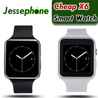 Bluetooth Smartwatch Curved Screen X6 Smart watch bracelet P...