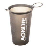 AONIJIE Foldable Soft Water Cup 200ml BPA Free Soft Water Cu...