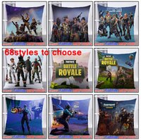 68 Styles 45*45cm Game Fortnite Pillows Case Cartoon Fortnit...