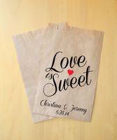 Персонализированные ремесло бумажный мешок свадьбы пользу держатели свадебный душ подарки Пакет 100 шт. лот бесплатная доставка оптовые