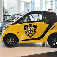 Araba -Styling Umbrella Şirketi Shield işareti Araç plakası Ve Çıkartması İçin VW Skoda Kia Smart Fortwo Golf Polo Peugeot 307 Opel