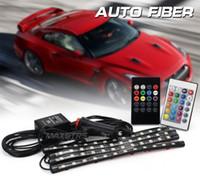 LED Lumière ambiante Accessoires de voiture Lumière intérieure Style de voiture Décoratif LED Lumière ambiante Musique Contrôle pratique