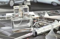 Transparente Glas Sprühflasche 30ml nachfüllbare Duftstoff-Flaschen-Spielraum Parfümzerstäuber Mit DHL-freies Verschiffen