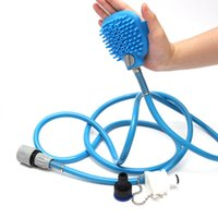 Pet Bathing Tool Massage for Dog Comfortable Shower Tool Cle...
