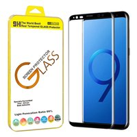 For Samsung Galaxy S9 S8 Plus Note 8 Note 9 3D Glass Screen ...