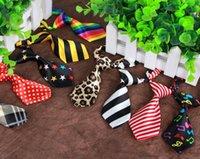 Moda Polyester Ipek Pet Köpek Kravat Ayarlanabilir Yakışıklı Pet Papyon Pet Kravatlar Köpekler Bağları Bakım Malzemeleri Çocuklar Boy Kravat MOQ 50 ADET
