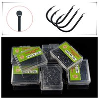 1200pcs 12box 1- 12# High Carbon Steel Ise Barbed Hook Fishin...