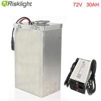 2017 Type plat Batterie Kdest 18650 rechargeable Batterie 72V 30AH Courant de décharge élevé avec auto-équilibrage Monocycle électrique