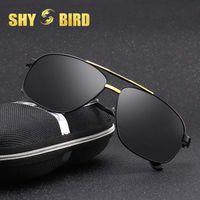 67946cfce7728 Nuevos Hombres Clásicos Gafas de Sol Polarizadas Polaroid Conductor  Sunglases Gafas Hombre Gafas de Sol UV400