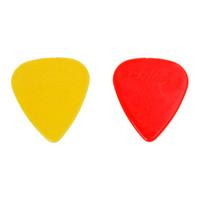 2 adet (100 adet Plastik Gitar Seçtikleri Plectrums 0.71mm-Rastgele Renk)