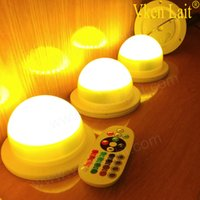 12PCS lot New Style Remote Controlled Rechargeable RGBW LED ...