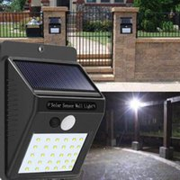20 LEDs Solar Motion Sensor Wall Light IP65 Waterproof for O...