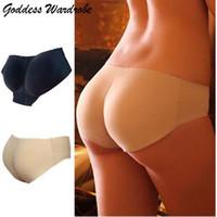 여자 매끄러운 속옷 팬티 Bragas를 밀어 패딩 된 란제리 버트 엉덩이 향상제 셰이퍼 팬티 섹시한 브리프 Dropship 4D23 # F #