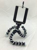عالية الجودة صغيرة الحجم الاخطبوط مرنة ترايبود حامل القوس حامل للهاتف المحمول كاميرا العمل مع كليب جبل لفون سامسونج DHL