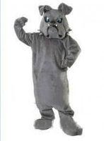 Prezzo più basso Prezzo su ordinazione Bulldog Spike Mascot Adult Peluche Peluche Costume del personaggio dei cartoni animati dei cartoni animati per il vestito del partito di Halloween