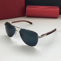 Luxury 8200825 Sunglasses Oval Frame Metal Popular UV Protec...