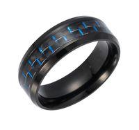2017 Nya heta smycken av hög kvalitet Titanium stål flätad ring för Lady Women Man Christmas Day Holiday Promotion