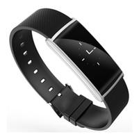 SOVO الذكية الاسورة شاشة OLED النوم المقتفي BT Smartband القلب رصد معدل الكاميرا عن بعد الأساور ل ios الروبوت الهاتف
