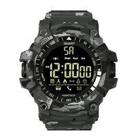 EX16 Plus Smart Watch Мужские спортивные наручные часы 5ATM водонепроницаемый трекер активности Bluetooth шагомер смарт браслет для Android IOS телефон бородавка