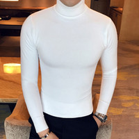 2017 New Fashion Turtleneck Sweater Autumn Winter Men' s...