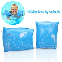 A Pair Of Inflatable Swimming Armbands That Swim To Help The...