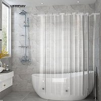 UFRIDAY полный прозрачный занавески для душа ясно ванна шторы лайнер PEVA плесени доказательство водонепроницаемый ткань ванная комната занавес для дома