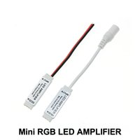 RGB LED Strip Amplifer DC12V 3*4A Mini LED Amplifier for RGB...