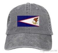 pzx @ Men Women Classic Denim-Flagge von American Samoa Justierbare Baseballmütze Papa Hut Low Profile Perfekt für den Außenbereich