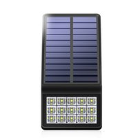 5. 5V Solar Panel Powered Outdoor LED Wall Light With RF Rada...