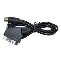 1.8m 6FT RGB Audio Video AV TV Scart Cavo Cavo di Piombo Per Sega Mega Drive 2 MD2 Genesis 2 Durevole DHL FEDEX EMS SPEDIZIONE GRATUITA